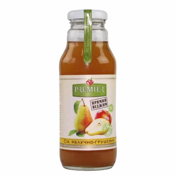 Сок яблочно-грушевый Premier