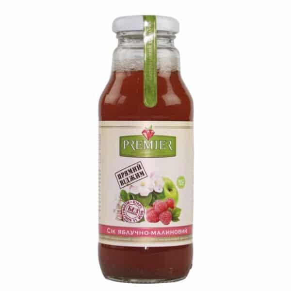 Сок яблочно-малиновый Premier