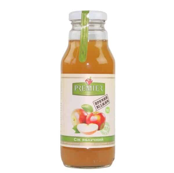 Сок яблочный Premier