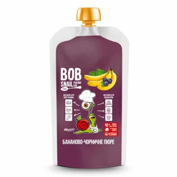 Бананово-черничное пюре Равлик Боб (Bob Snail)