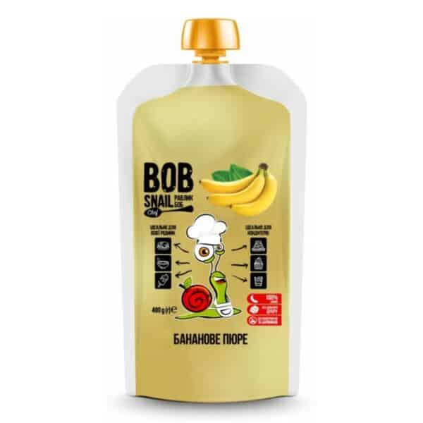 Банановое пюре Равлик Боб (Bob Snail)