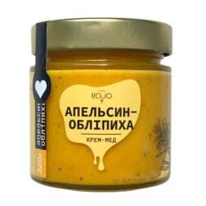 """Крем-мёд """"Апельсин-Облепиха"""" 320г"""