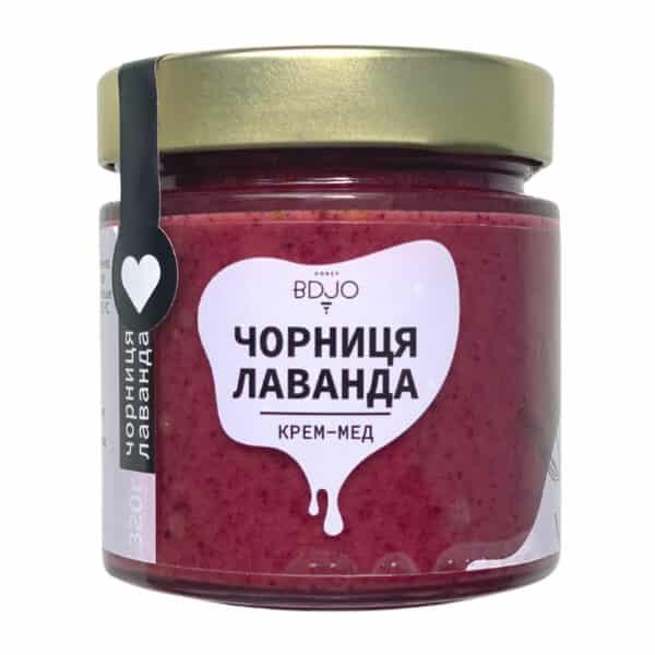 "Крем-мёд ""Черника-Лаванда"" 320г"