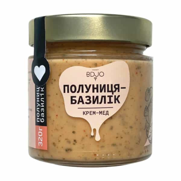 "Крем-мёд ""Клубника-Базилик"" 320г"