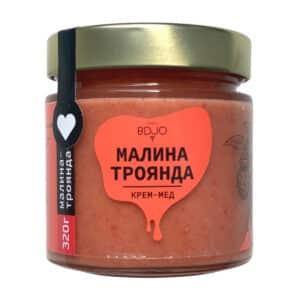 """Крем-мёд """"Малина-Роза"""" 320г"""