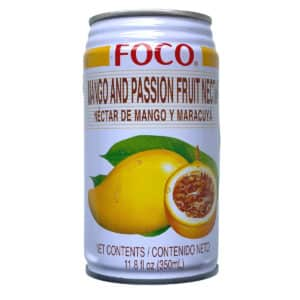 Манго и маракуйя нектар, Foco, 350мл.