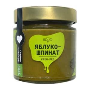 """Крем-мёд """"Яблоко-Шпинат"""" 320г"""
